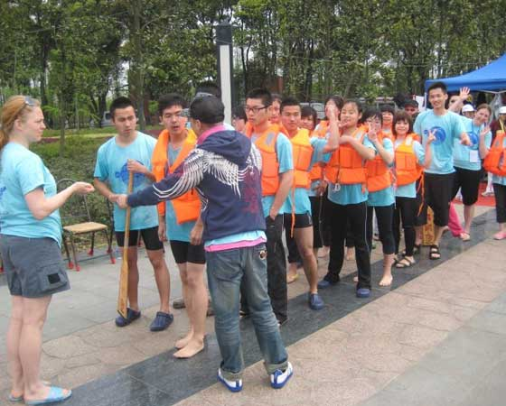 Wuxi dragonboat race lineup